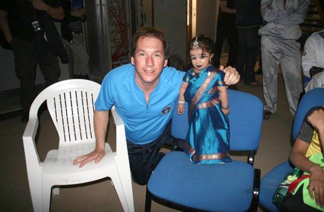 Ken and Jyoti Amge